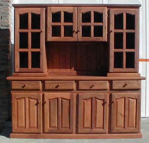 arte macizo muebles de cocina y artesanales living comedor